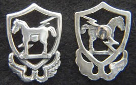 10th Special Forces 1950's beret badge Sterling Silver Tie Tack      - $20.00