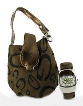 Geneva Bangle Watch & Matching Mini Purse - $19.99