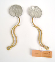 Silver Seasons Table Art by Michael Michaud Water Lily Serving Spoon Set... - $1.340,14 MXN
