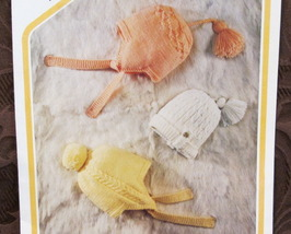 BABY Knitting Patterns CHILDRENS HATS TOQUES CAPS 6 months - 2 Years Old - $4.95