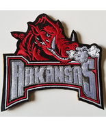 University of Arkansas Razorbacks Embroidered Patch Sew,Iron, VELCRO® Brand back - $7.95 - $9.95