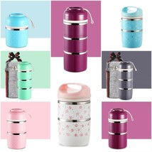 Japanese Thermal Lunch Box Leak Proof Stainless Steel Portable Food Cont... - $18.79+