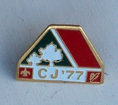 Canadian Boy Scout Jamboree Prince Edward Island Original Pin - $10.99