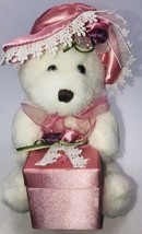 """Dan Dee Collectors Choice Teddy Bear Plush Jewelry Bow A Gift For Mom Tag 8"""" - $15.67"""