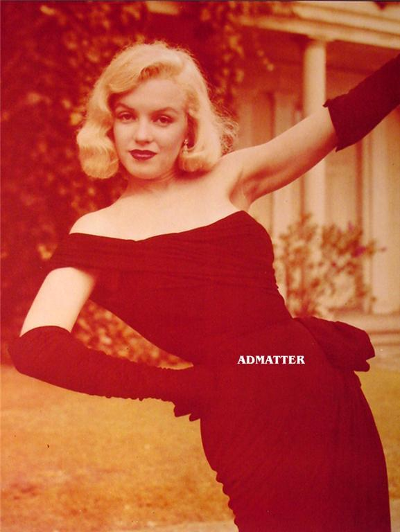 Marilyn Monroe Old Pin-up Poster Print Stunning Photo!