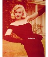 Marilyn Monroe Old Pin-up Poster Print Stunning Photo! - $11.05