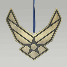 Holiday Ornaments AIR FORCE METAL LOGO ORNAMENT Official Licensed Af9171... - $17.99
