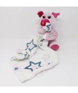 Little Beginnings Plush Security Blanket Snuggle Buddy - New - Pig - $23.74