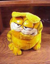 1981 Garfield Seated Stuffed Animal, made by Dakin - $8.95