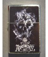 ALCHEMY ENGLAND 1977 SKULL REFILLABLE OIL CIGARETTE LIGHTER NEW - $4.86