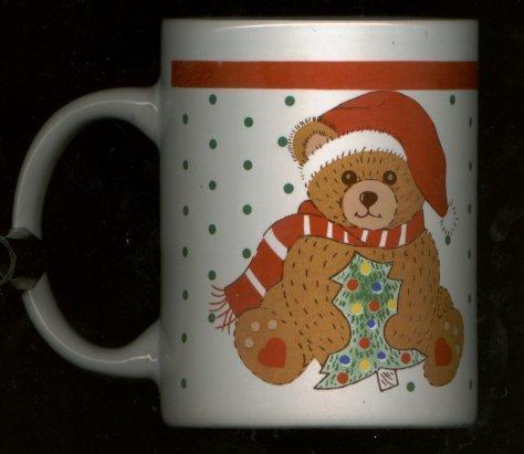 TEDDY BEAR CHRISTMAS MUG