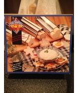 Set of 3 Shaped Baking Tubes Star Flower & Heart for Baking Bread & Cake... - $14.99