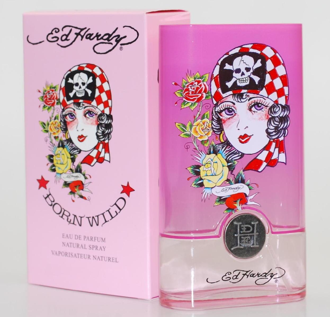 Ed Hardy Born Wild Shop: Ed Hardy Born Wild For Women Eau De Parfum Spray 30mL Cologne Christian Audigier