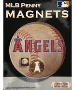 ANAHEIM ANGELS BASEBALL MLB PENNY MAGNET NEW - $2.95