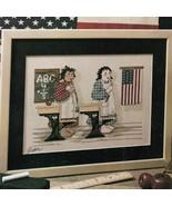 School Pledge Paperweights Leisure Arts Mag Aug 1989  Cross Stitch Knit ... - $9.87