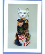 Cat'n Around Catskill Mini Poster Card 5 In Series - $7.50
