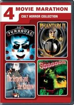 Cult Horror Collection (Funhouse/Phantasm 2/Serpent and the Rainbow/Sssssss)
