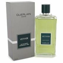 Vetiver Guerlain By Guerlain 6.8 oz EDT Spray For Men *NEW* - $49.98