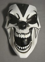 Black And White Comedy Mask  Halloween Mask Pvc New - $5.40