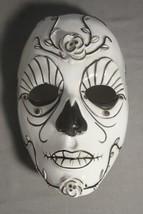 Black And White Dark Rose Mask Halloween Mask Pvc New - $5.40
