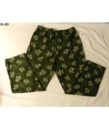 Joe Boxer Size Large Green Leaf Lounge Pants NWT - $12.99