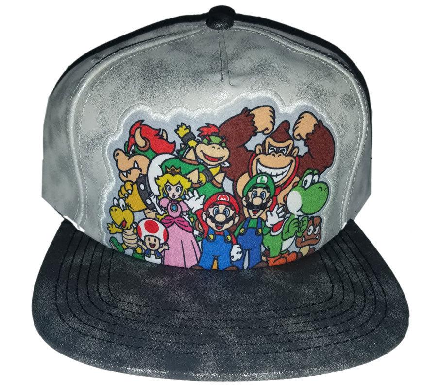 Super Mario 'Mario and Friends' Brand New Snapback Cap * Nintendo - $11.88