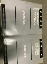 2006 Dodge Dakota Truck Service Shop Workshop Repair Manual Volume 1 & 2 - $42.24
