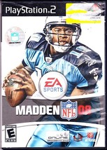 Playstation 2, EA Sports, Madden 08, Rated E For Everyone - $1.99