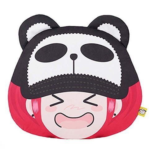 Cartoon Car Pillow Auto Accessories Car Headrest Neck Pillow Jushi Cute