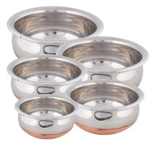 Handi Cookware 5 P Cs. Set Copper Bottom Perfect Collection For Your Kitchen - $52.80
