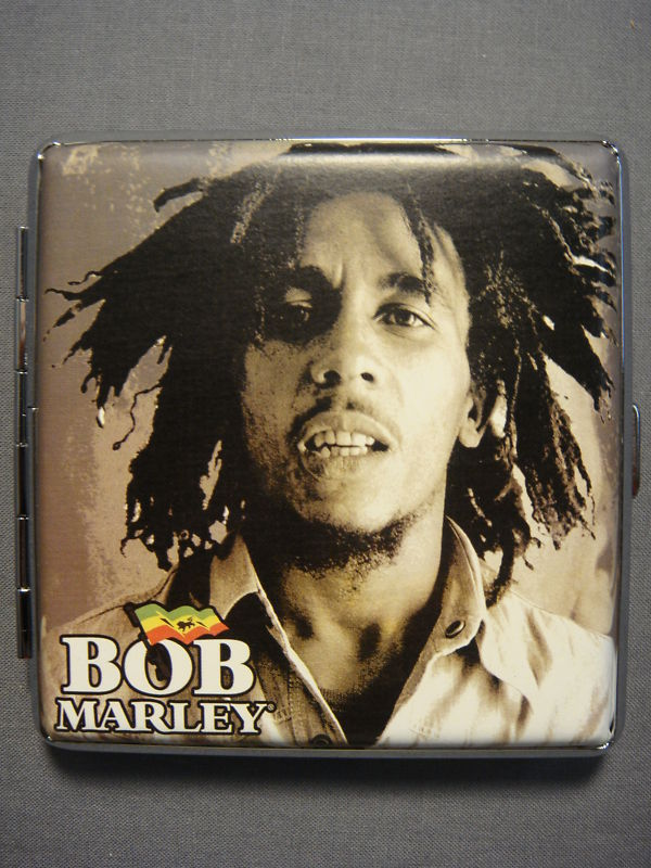BOB MARLEY ONE LOVE ALBUM COVER PORTRAIT CIGARETTE CASE ...