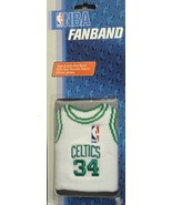 BOSTON CELTICS #34 PAUL PIERCE JERSEY FANBAND WRISTBAND SWEATBAND ARM BA... - $11.90