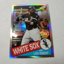 2020 Luis Robert Topps Chrome 35th Anniversary Refractor Rookie Card RC - $19.75