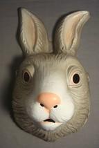 Bunny Animal Halloween Mask Pvc New - $5.40
