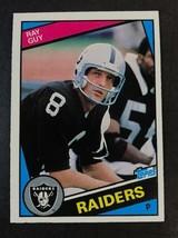 1984 Topps Football #107  RAY GUY  Raiders - $0.98