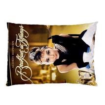 "Audrey Hepburn Pillow Case 30""X20"" Full Size Pillowcase - $19.00"