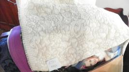 Celery Green & Off White Print Mattelasse Upholstery Fabric 1 Yard  R207 - ₨1,356.90 INR