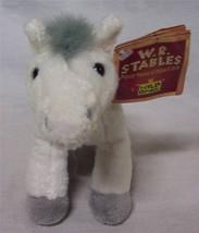 """Wild Republic W.R. Stables SNOWFLAKE WHITE HORSE 6"""" Plush STUFFED ANIMAL... - $16.34"""