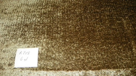 Gold Green Chenille Upholstery Fabric 1 Yard  R208 - $39.95