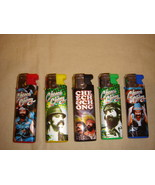 CHEECH AND CHONG ELECTRONIC TORCH LIGHTERS SET OF 5 NEW BLUE SEPERATE  - $9.26