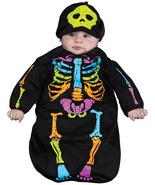 Rainbow Baby Skeleton Bunting , Halloween Costume , 0-9 MONTHS - Free Sh... - $32.00