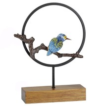 Iron Parrot Ornaments Home Decoration Furnishing   small - $65.73