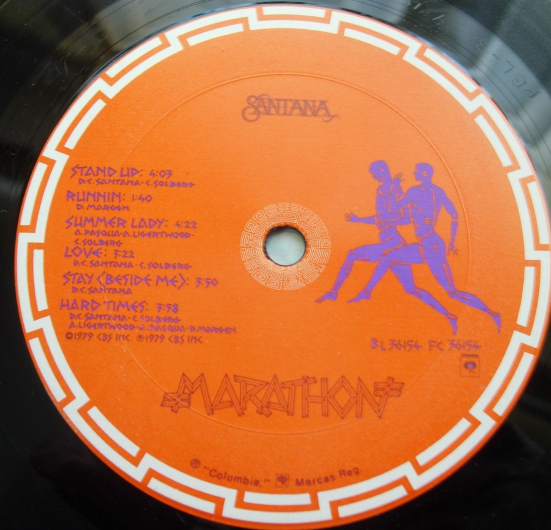 Santana - Marathon - Columbia Records FC 36154