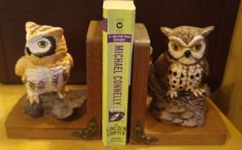 Vintage Enesco Ceramic Owl Book Ends - $24.99