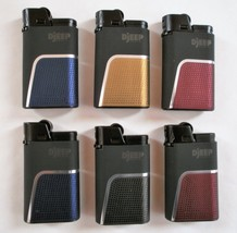 6 DJEEP Deluxe Soft Touch Luxury 6 Lighters, up to 4000 lights - $15.35