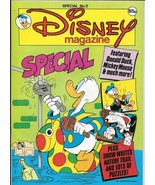 Disney Magazine Special #3 UK London Editions 1987 Color Comic Stories V... - $11.64