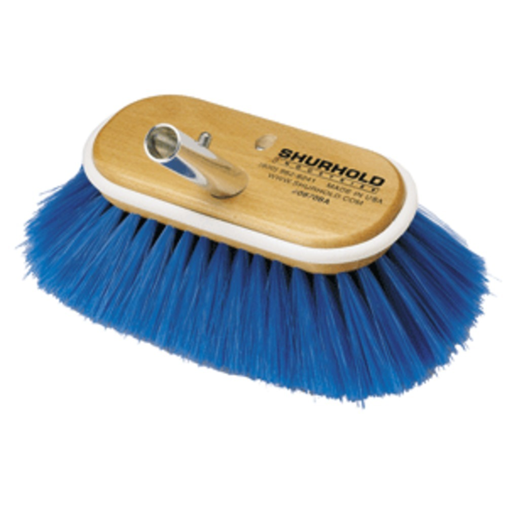 Shurhold 6 Nylon Extra Soft Bristles Deck Brush