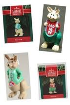 1991 Hallmark Keepsake Christmas Ornament Lot Mom & Dad to Be Kangaroos ... - $12.19