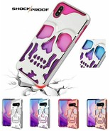 Apple iPhone 11 /Pro /Max Case Cover Skull Hybrid Shock Protective Rubber Rugged - $9.67