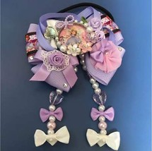 Disney Small Princess Sofia ribbon Hair Rubber Hair clasp hair ornaments... - $32.67